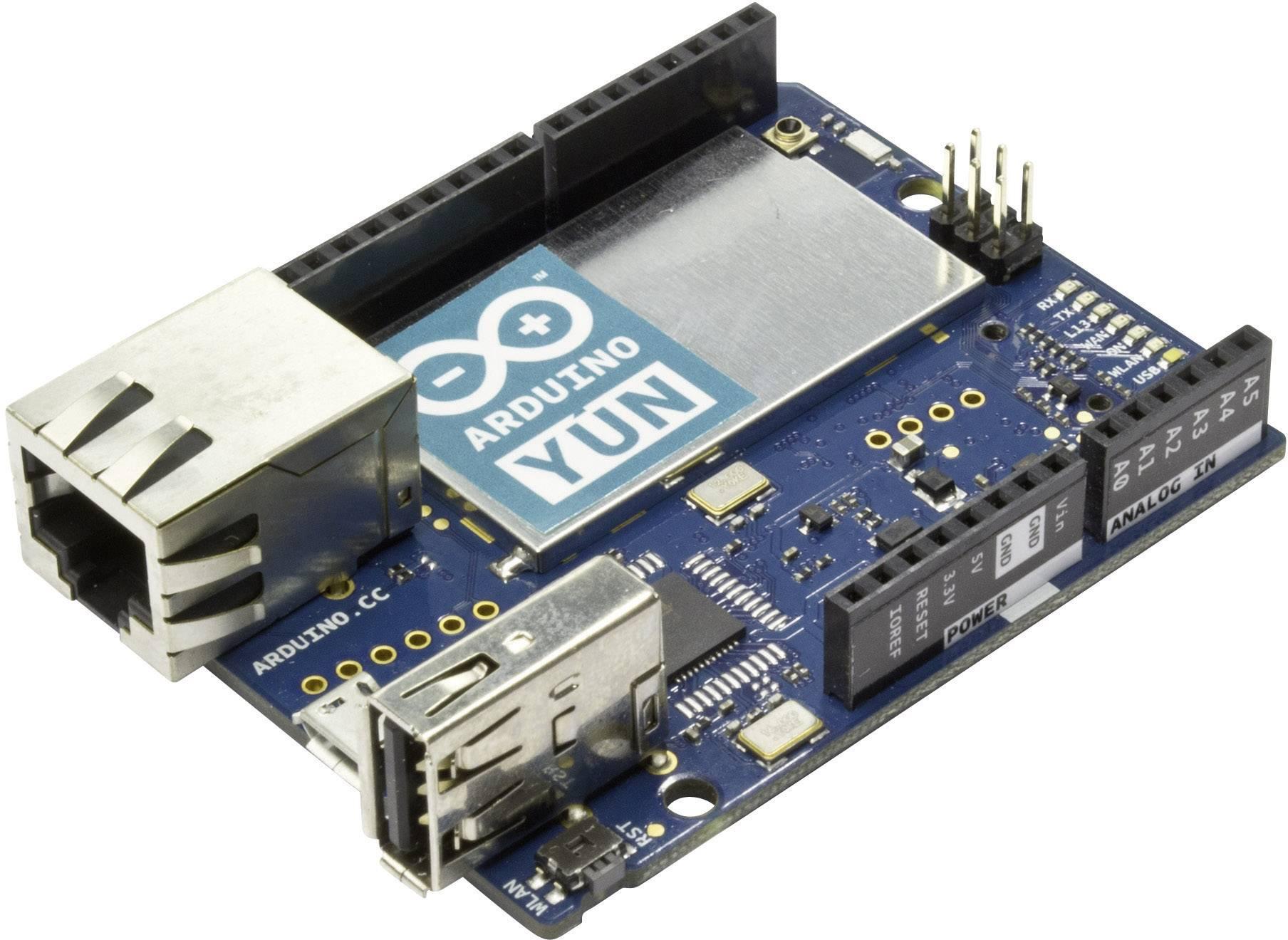 Doska Arduino Yun A000008, ATMega32, Ethernet, SD karta