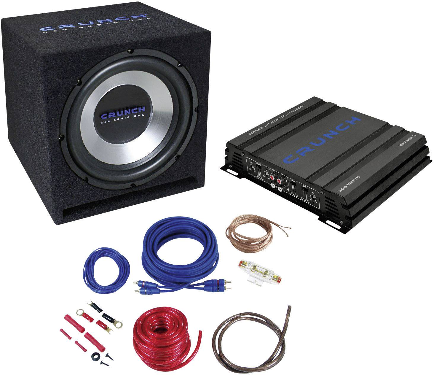 Hi-Fi súprava do auta Crunch CBP1000, 1000 W