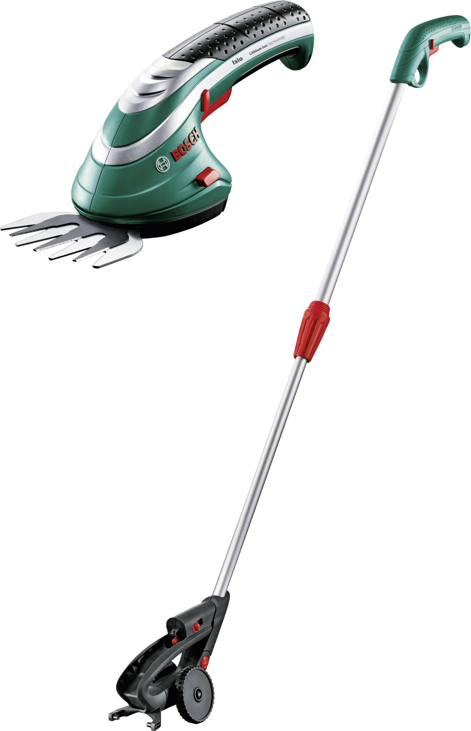 Akumulátorová teleskopické nůžky na trávu + akumulátor 3.6 V Li-Ion akumulátor Bosch Home and Garden Isio