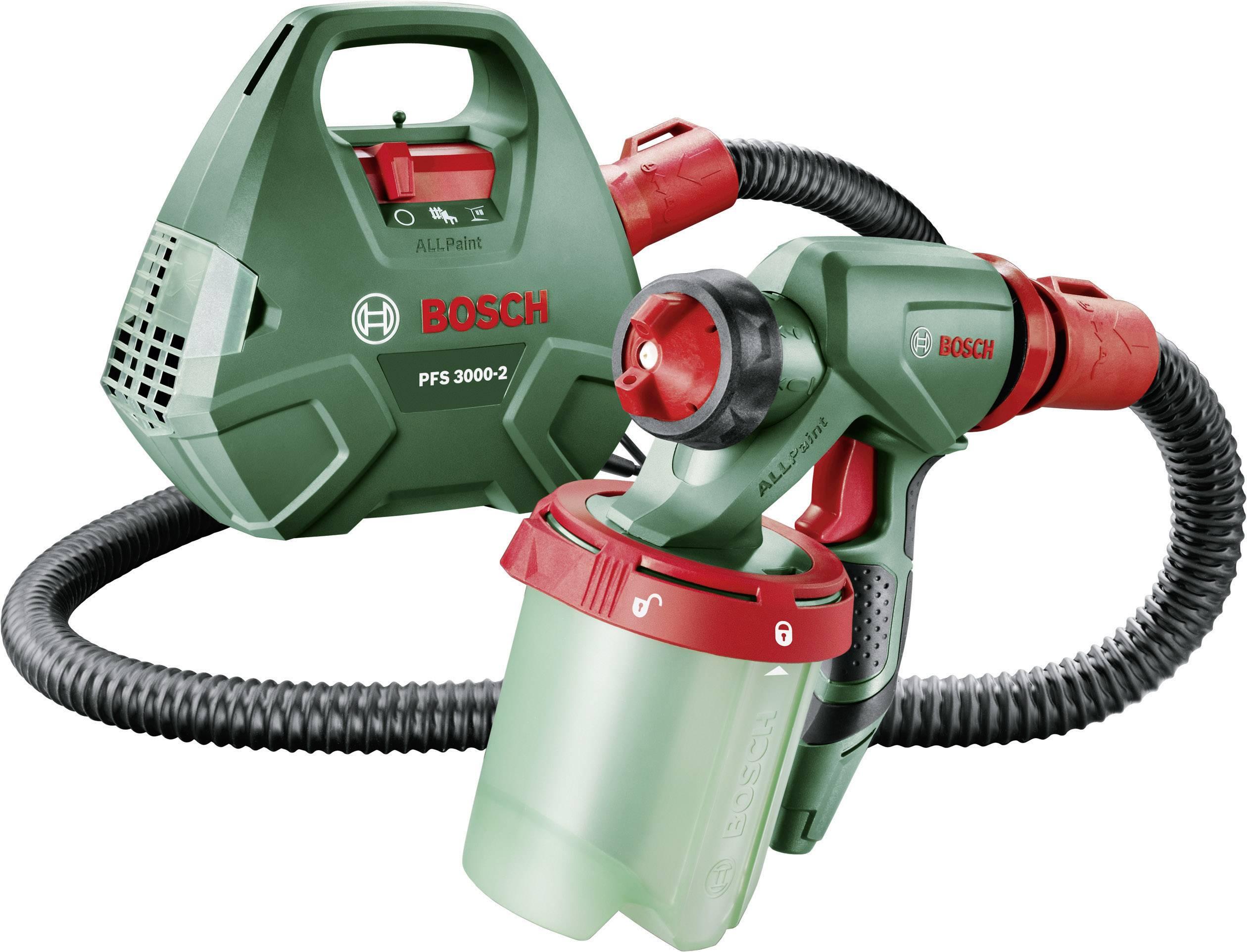 Striekacia pištoľ Bosch PFS 3000-2, 1000 ml