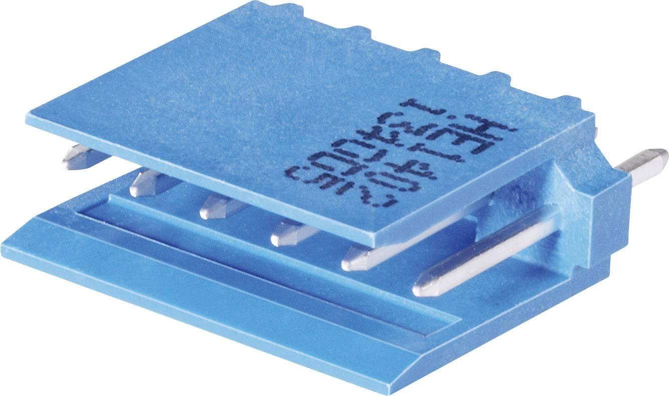 Pinová lišta (štandardná) TE Connectivity AMPMODU 281696-3, 14.3 mm, pólů 3, rozteč 2.54 mm, 1 ks