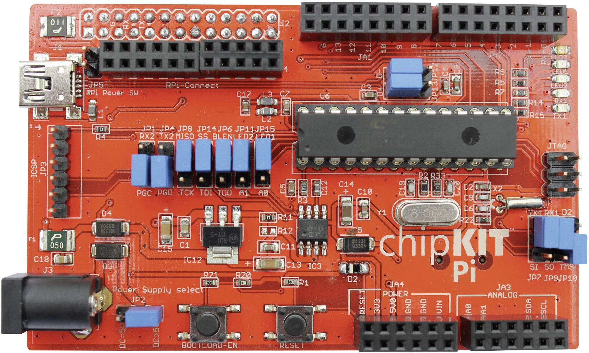 Rozširujúca doska Microchip Technology chipKIT Pi