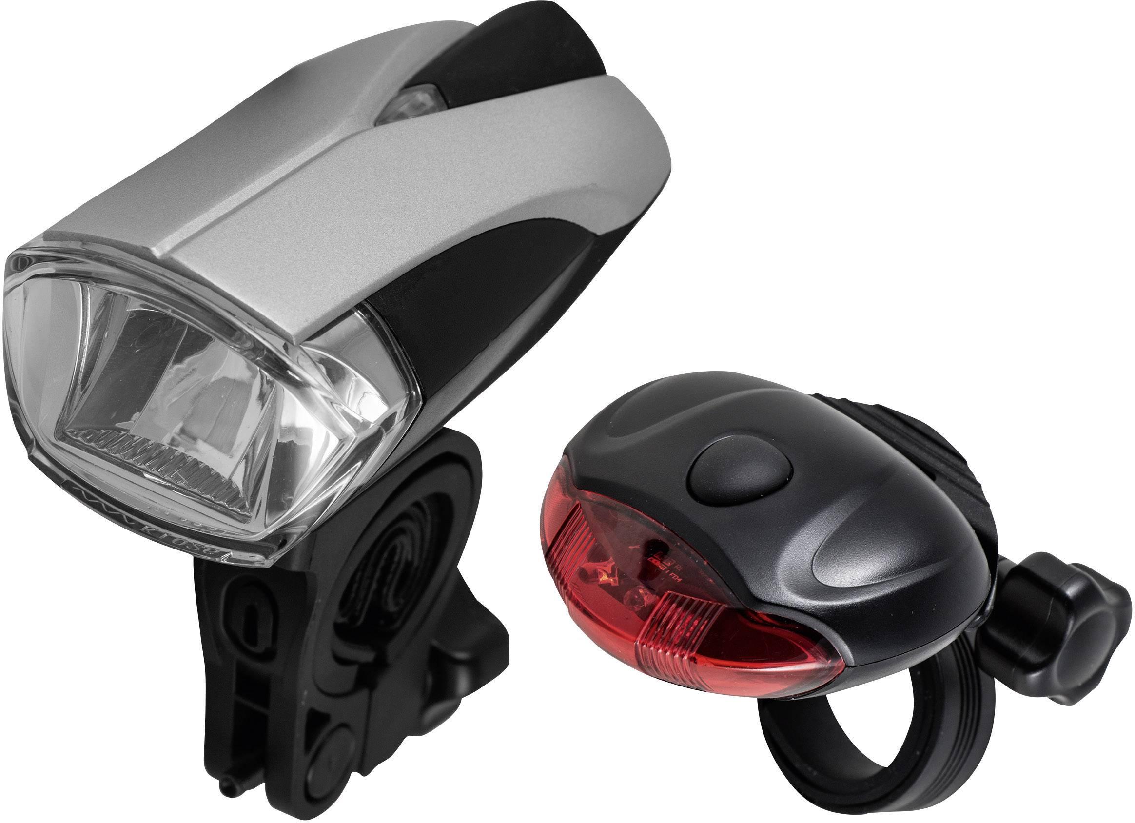 Sada LED osvětlení pro kolo Varta Bike 62585, 10 lx