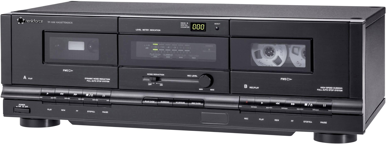 Kazetový prehrávač Renkforce TP-1000