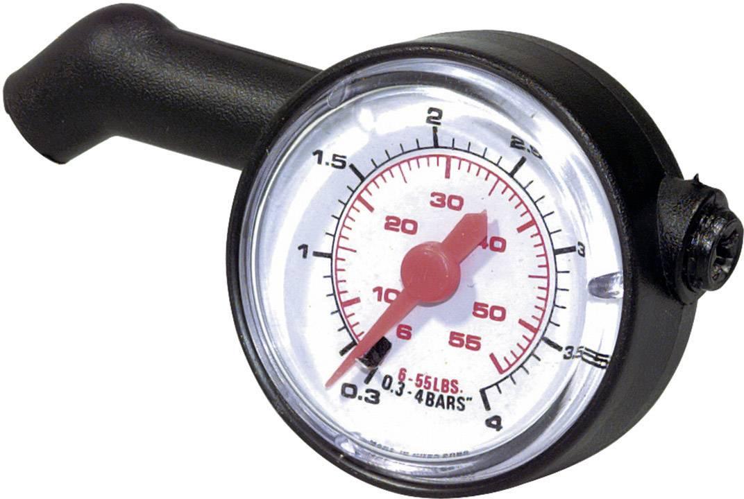 Měřiče tlaku a hloubky vzorku pneumatik