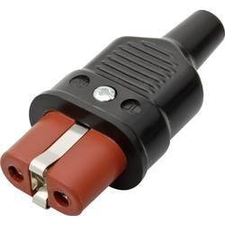 Síťová IEC zásuvka Kalthoff 344P/Si, 250 V 16 A, červená, 344008