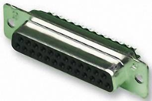 D-SUB zásuvková lišta TE Connectivity AMPLIMITE HD-20, 180 °, Počet pinov 15, spájkovaný, 1 ks
