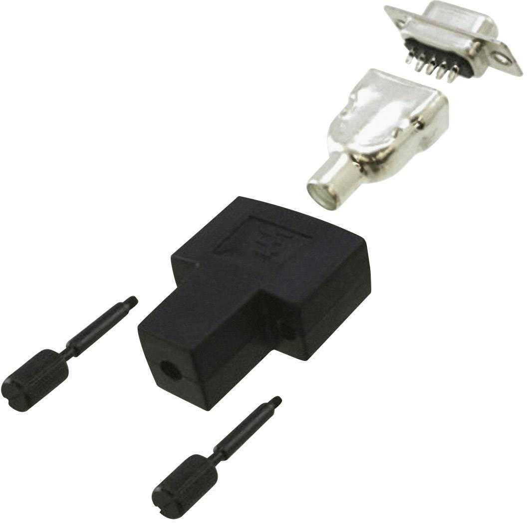 D-SUB zásuvková lišta TE Connectivity AMPLIMITE HD-20, Počet pinov 9, spájkovaný, 1 ks