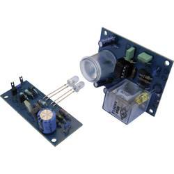 Infračervená světelná závora Kemo B213, dosah 50 m, přijímač 12 V/DC, vysílač 9 V/DC