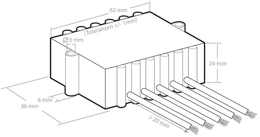 Zesilovací modul Kemo M032N, 6 - 16 V/DC, 12 W