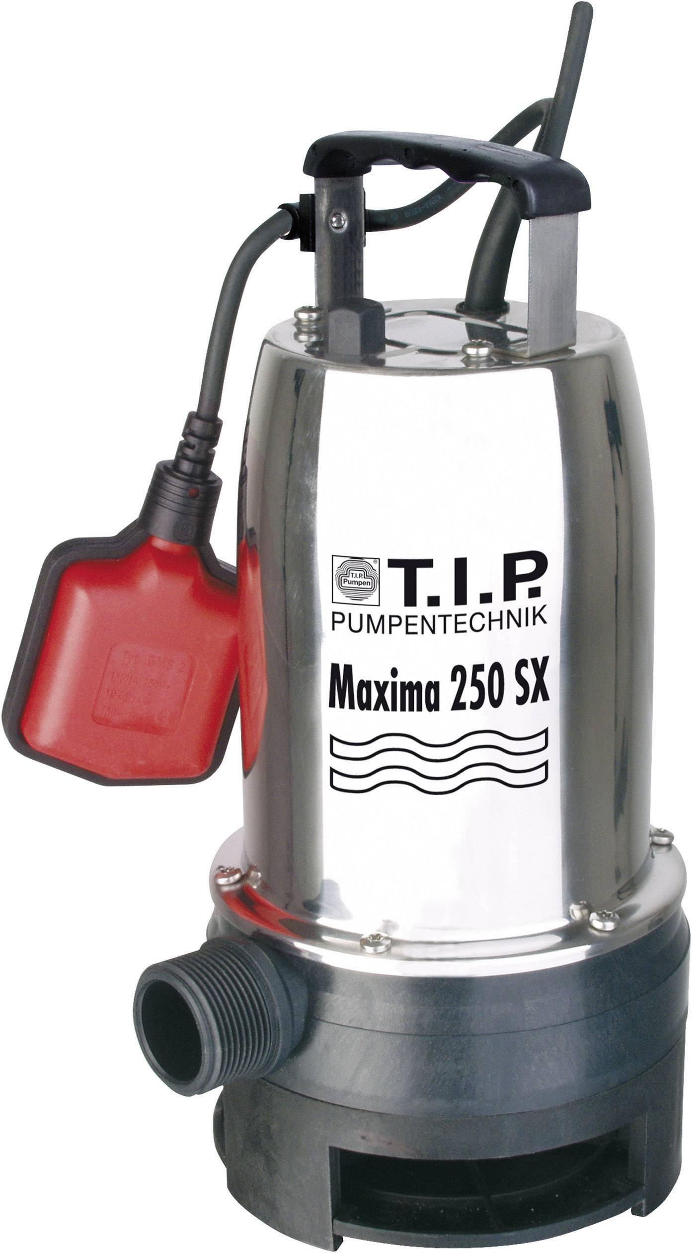 Ponorné čerpadlo pre úžitkovú vodu T.I.P. Maxima 250 SX 30264, 14500 l/h, 8 m