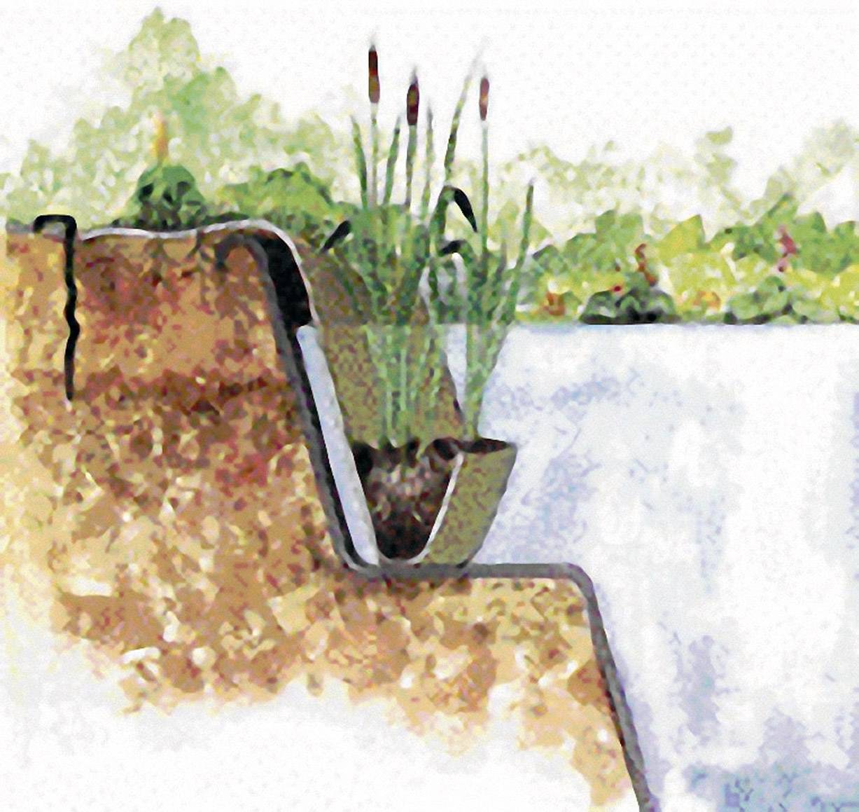 Kapsa na rostliny do zahradního jezírka Oase Jute 36296