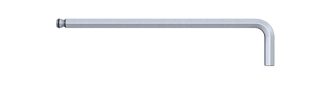 Inbus zahnutý skrutkovač Wiha Ball end hex MagicRing 369R 20570, 5 mm