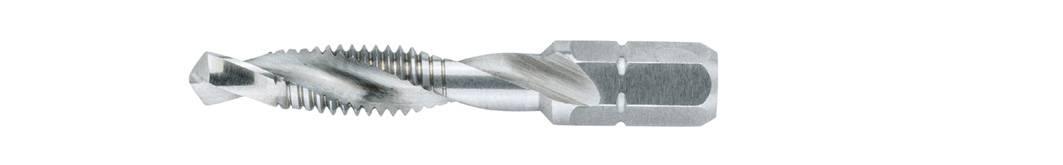 Kombinovaný závitník Wiha 27901, M8, 51 mm, HSS, 1 ks