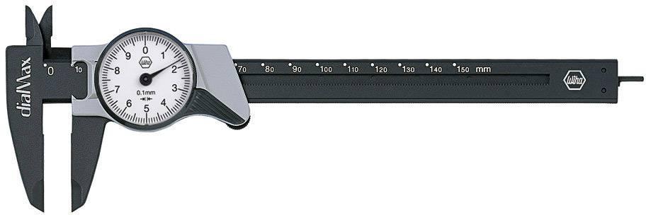 Posuvné měřítko s ciferníkem Wiha dialMax 27082, měřicí rozsah 150 mm, Kalibrováno dle podnikový standard (bez certifikátu) (own)