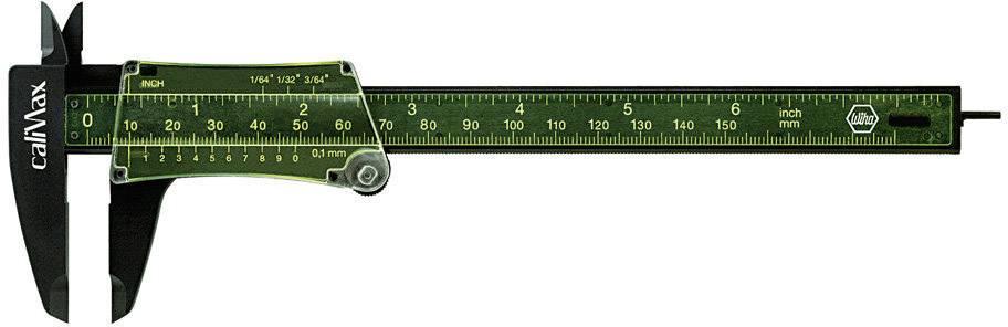 Kapesní posuvné měřítko Wiha caliMax 27083, měřicí rozsah 150 mm, Kalibrováno dle bez certifikátu