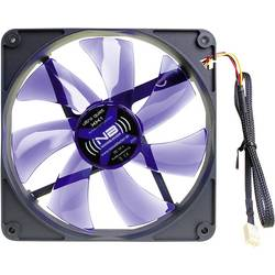 PC větrák s krytem NoiseBlocker BlackSilent XK1 (š x v x h) 140 x 140 x 25 mm