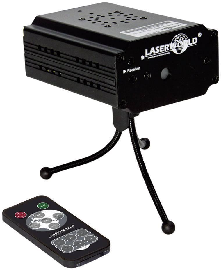 Laserový efekt Laserworld EL-100RG IR, 100 - 250 V/AC, červená/zelená