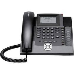 Systémový telefon, ISDN Auerswald COMfortel 1200 handsfree podsvícený displej černá