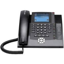 Systémový telefon, ISDN Auerswald COMfortel 1400 handsfree dotykový barevný displej černá