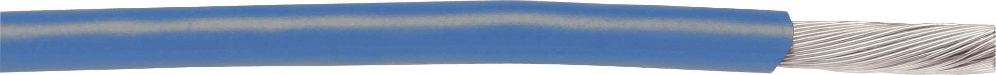 Pletenica EcoWire 1 x 3.31 mm, modra AlphaWire 6718 30.5 m