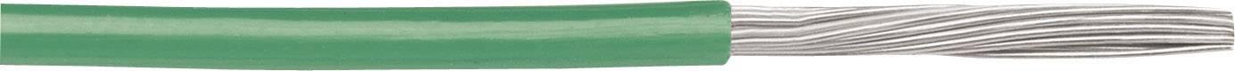 Opletenie / lanko AlphaWire 6716 EcoWire, 1 x 1.31 mm², vonkajší Ø 2.06 mm, 30.5 m, zelená