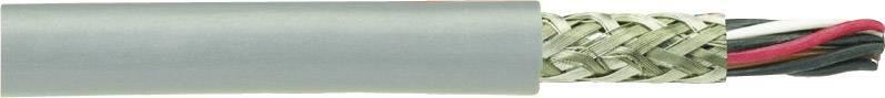 Riadiaci kábel AlphaWire B961023, 4 x 0.09 mm², vonkajší Ø 5.18 mm, 300 V, metrový tovar, sivá