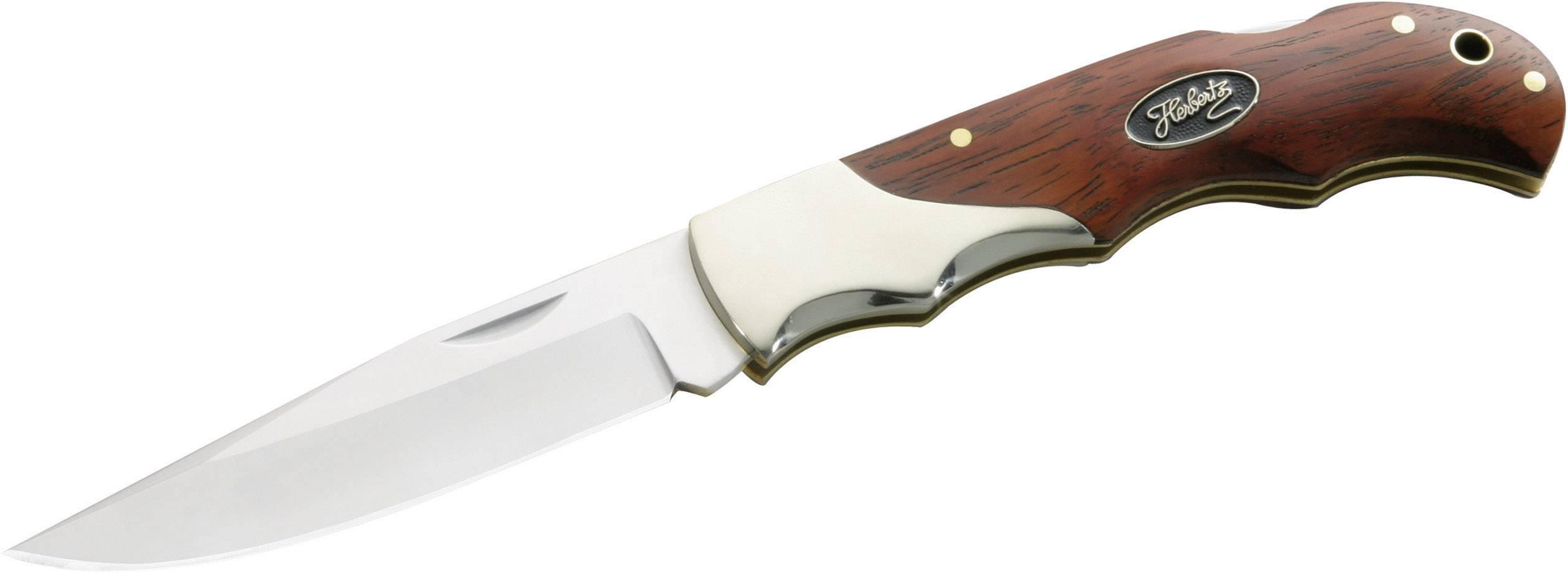 Kapesní nůž Herbertz Cocobolo 259311, stříbrná, dřevo