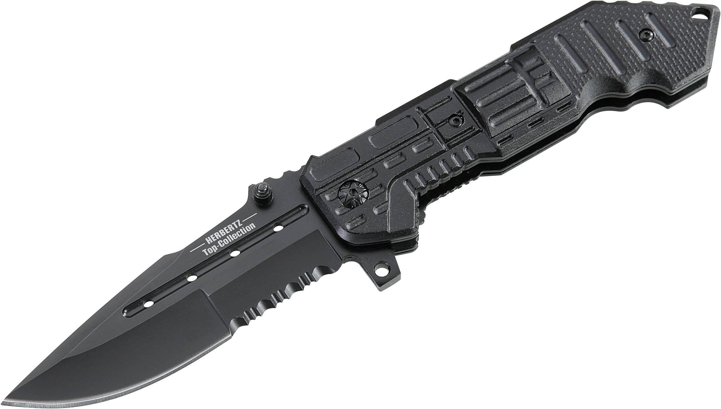 Outdoorový nůž Herbertz Top-Collection 521112, černá