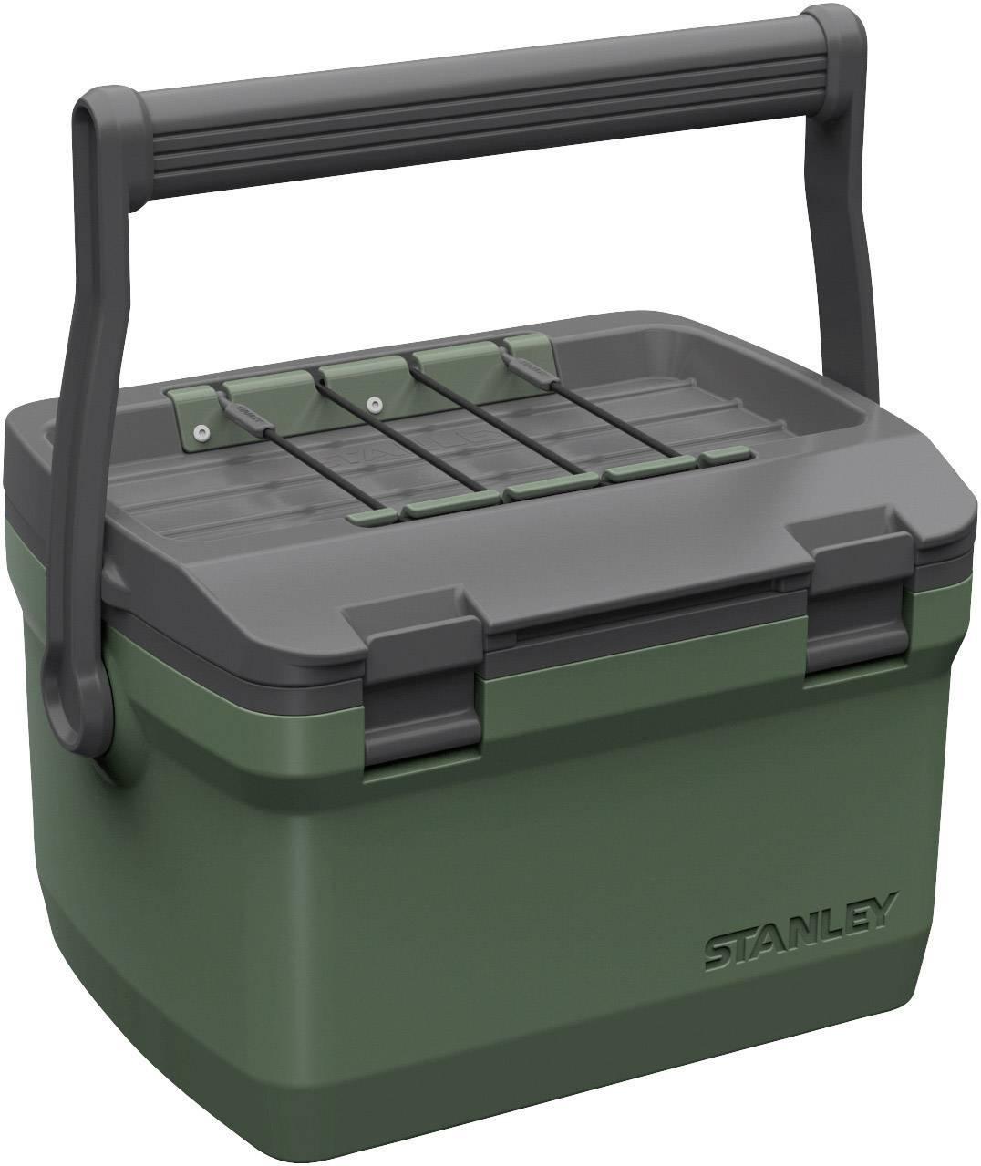 Prenosná chladnička (autochladnička) Stanley by Black & Decker Adventure, 6.6 l, zelená, sivá