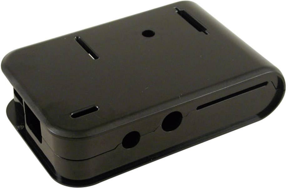 Kryt pro Raspberry Pi® Hammond Electronics 1593HAMPIBK, černá