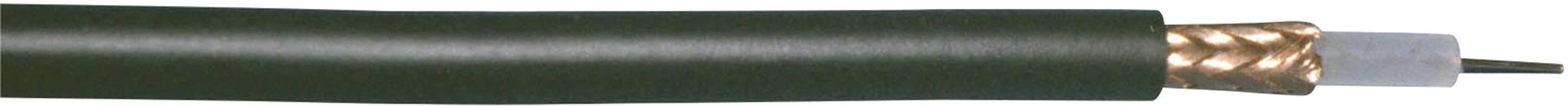 Koaxiální kabel Bedea RG58, 10840911 50 Ohm, černá, metrové zboží
