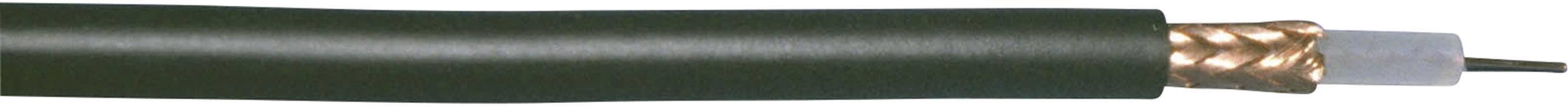 Koaxiální kabel Bedea RG59, 10850911 75 Ohm, černá, metrové zboží