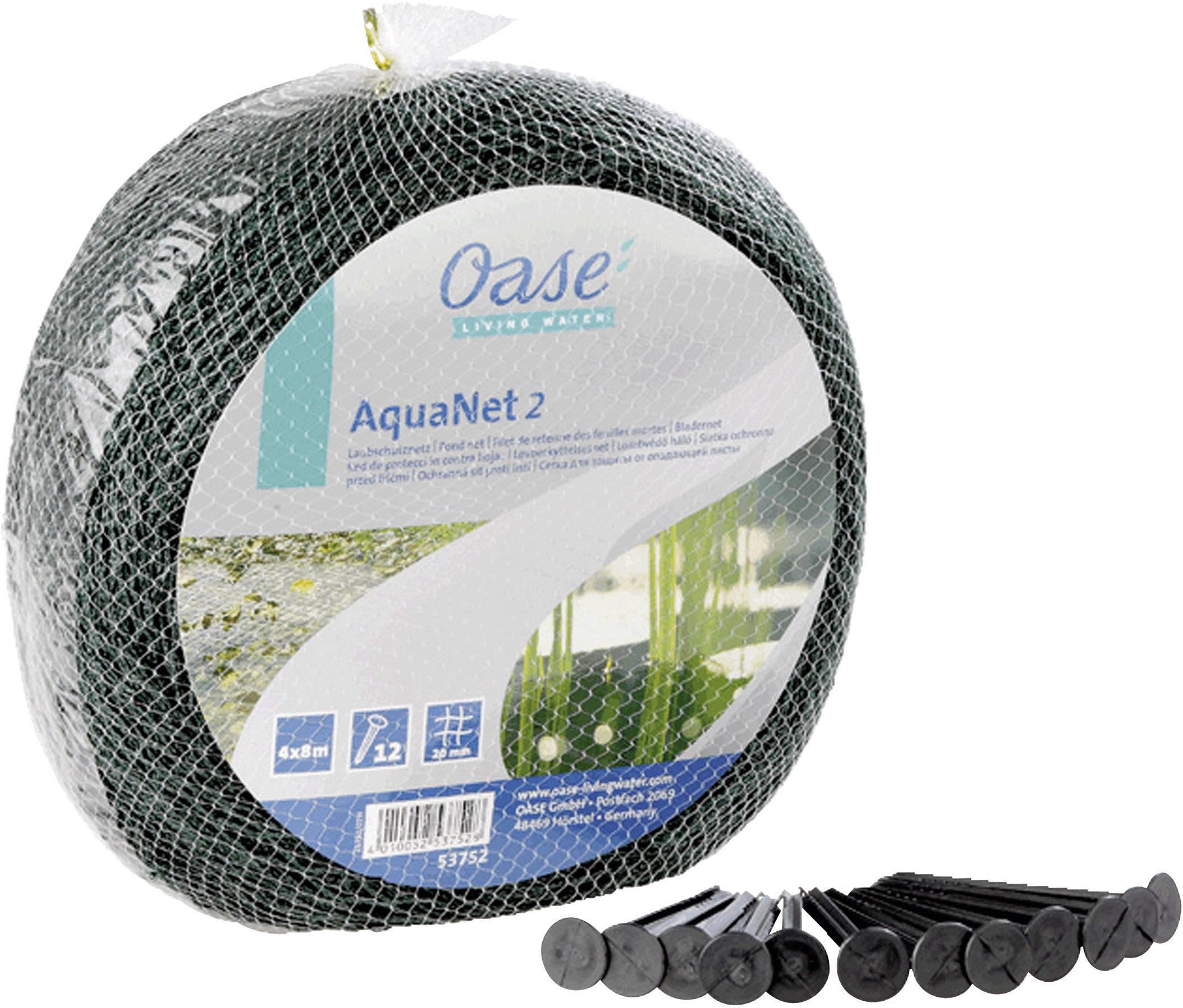 Oase 53752 Jezírková síťka AquaNet 2 / 4 x 8 m
