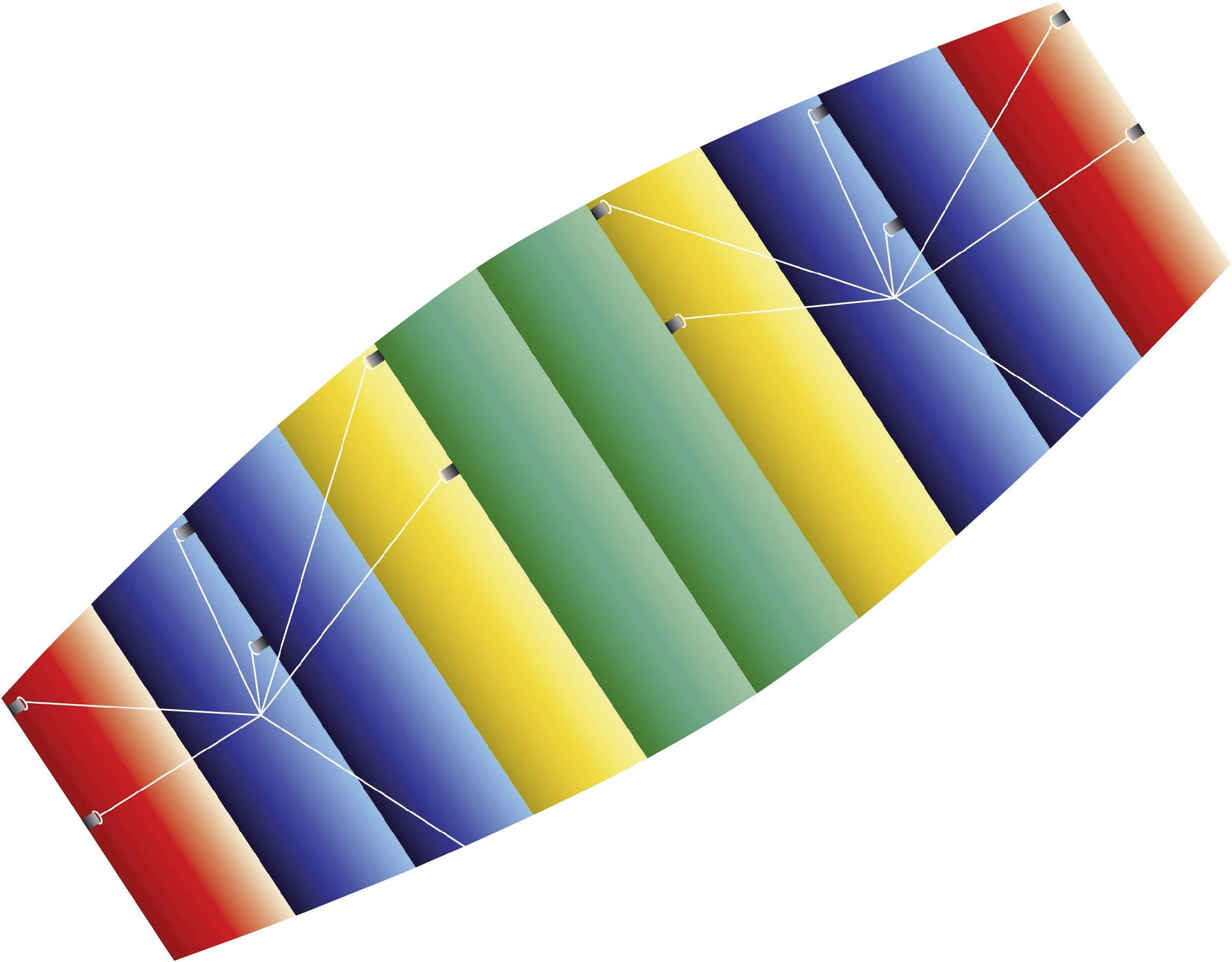 Ťažný šarkan štvoršnúrový Günther Flugspiele Raver 1095, rozpätie 1000 mm