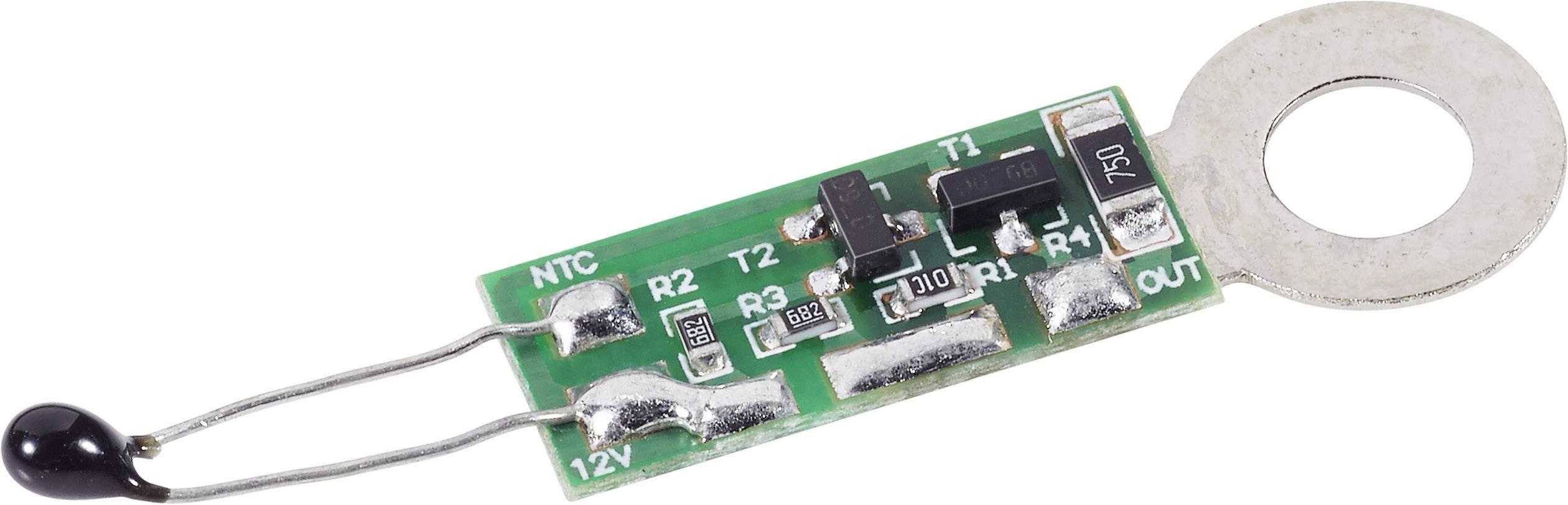 Teplotně řízená regulace ventilátoru H-Tronic, 12 V/DC (modul)