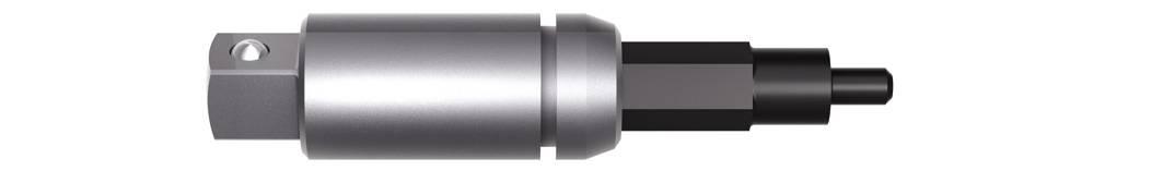 Torzný bitový držiak pre račňu, Wiha Torque TR 28339, 52 mm