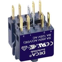 Spínací kontaktní prvek DECA ADA16-A, 2 rozpínací kontakty, 2 spínací kontakty, 250 V/AC, 1 ks