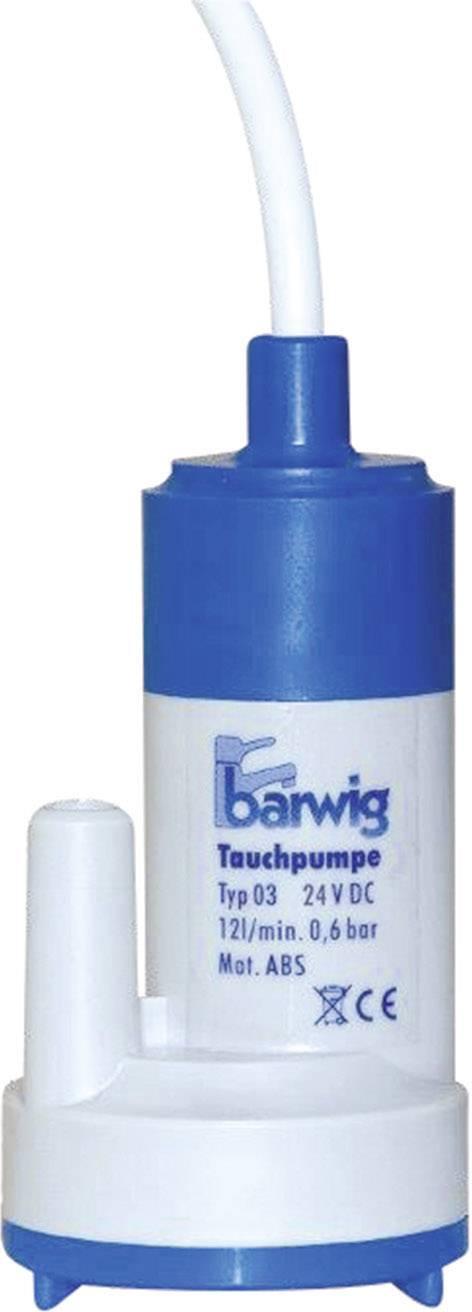 Ponorné čerpadlo Barwig Typ 03, 03-24, 24 V/DC, 1,5 - 2,0 A, 12 l/min, 6 m