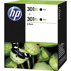 HP Inkoustová kazeta 301XL originál Dual černá D8J45AE