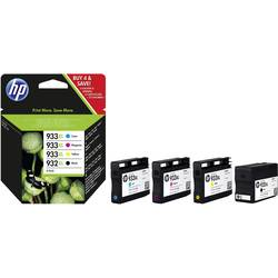 HP Inkoustová kazeta 932XL, 933XL originál kombinované balení černá, azurová, purppurová, žlutá C2P42AE
