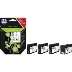 HP Inkoustová kazeta 950XL + 951XL originál kombinované balení černá, azurová, purppurová, žlutá C2P43AE