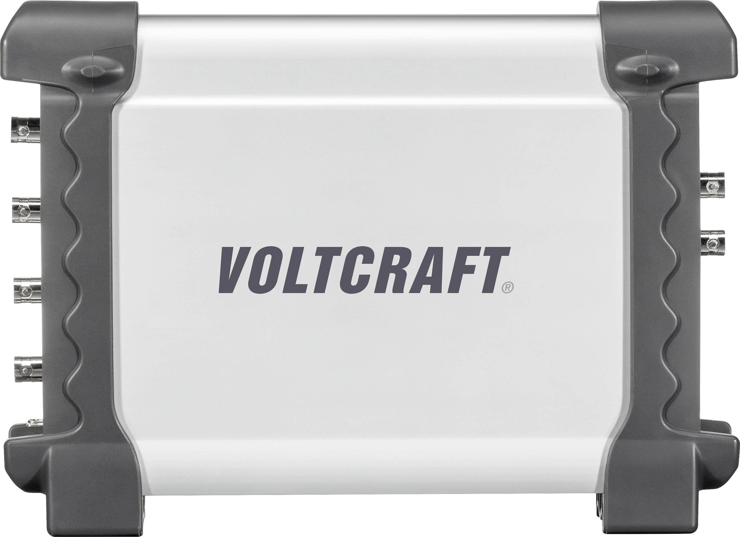 USB osciloskop s generátorem funkcí VOLTCRAFT DSO-2064G, 70 MHz, 4kanálový