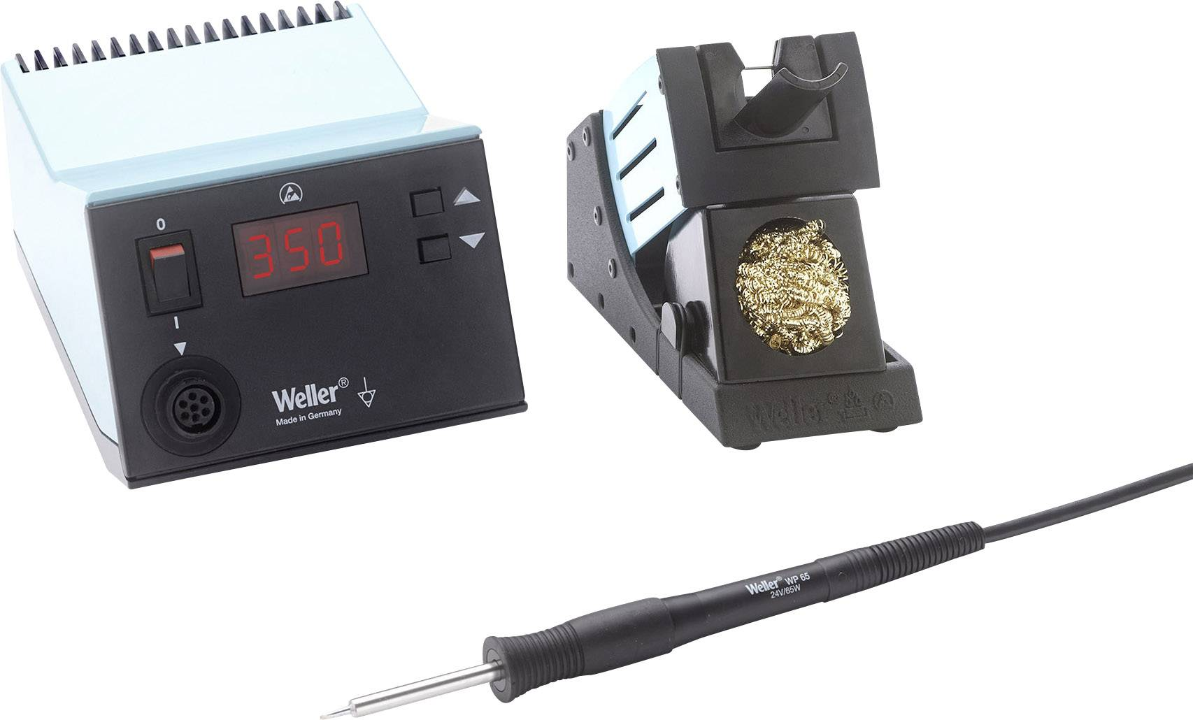 Digitálne spájkovacia stanice Weller WSD 81i SE, 95 W, +50 až +450 °C, spájkovacie pero WP 65