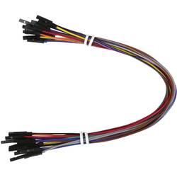Joy-it RB-CB3-025 Jumper kabely 25.00 cm barevná, RB-CB3-025