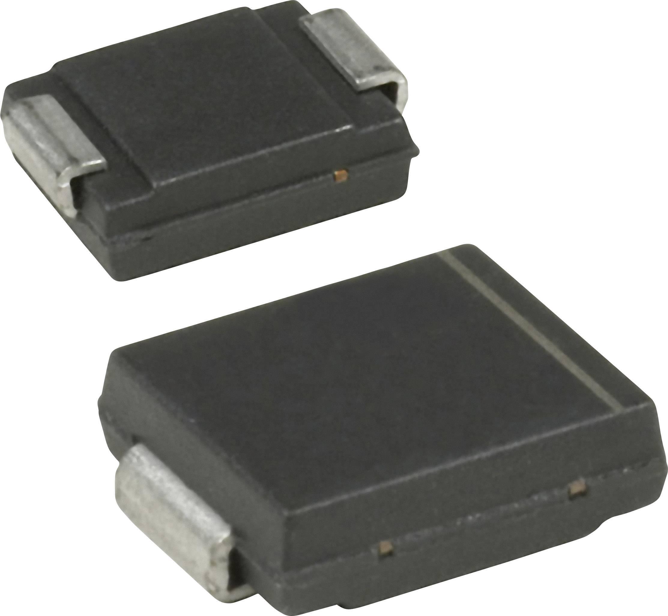 TVS dioda Vishay SMCJ130CA-E3/57T, DO-214AB , 144 V, 1.5 kW