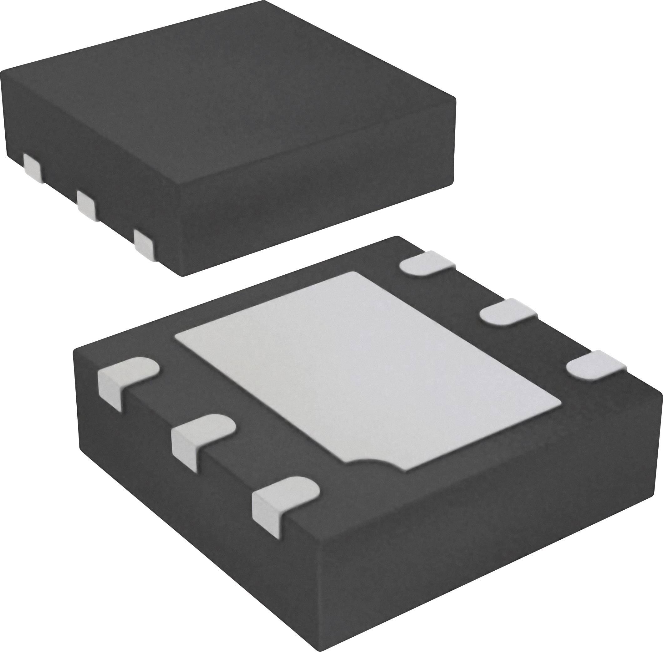 Logické IO - brána a měnič - konfigurovatelné ON Semiconductor 74AUP1G97L6X asymetrický MicroPak-6
