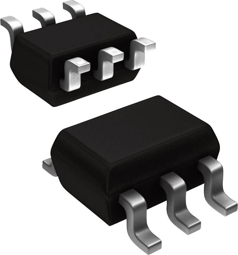 NPN tranzistor (BJT) - pole Nexperia BC846S,125, TSSOP-6 , Kanálů 2, 65 V