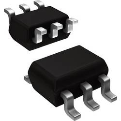 Tranzistor MOSFET Nexperia BSS138PS,115, 2 N-kanál, 420 mW, TSSOP-6
