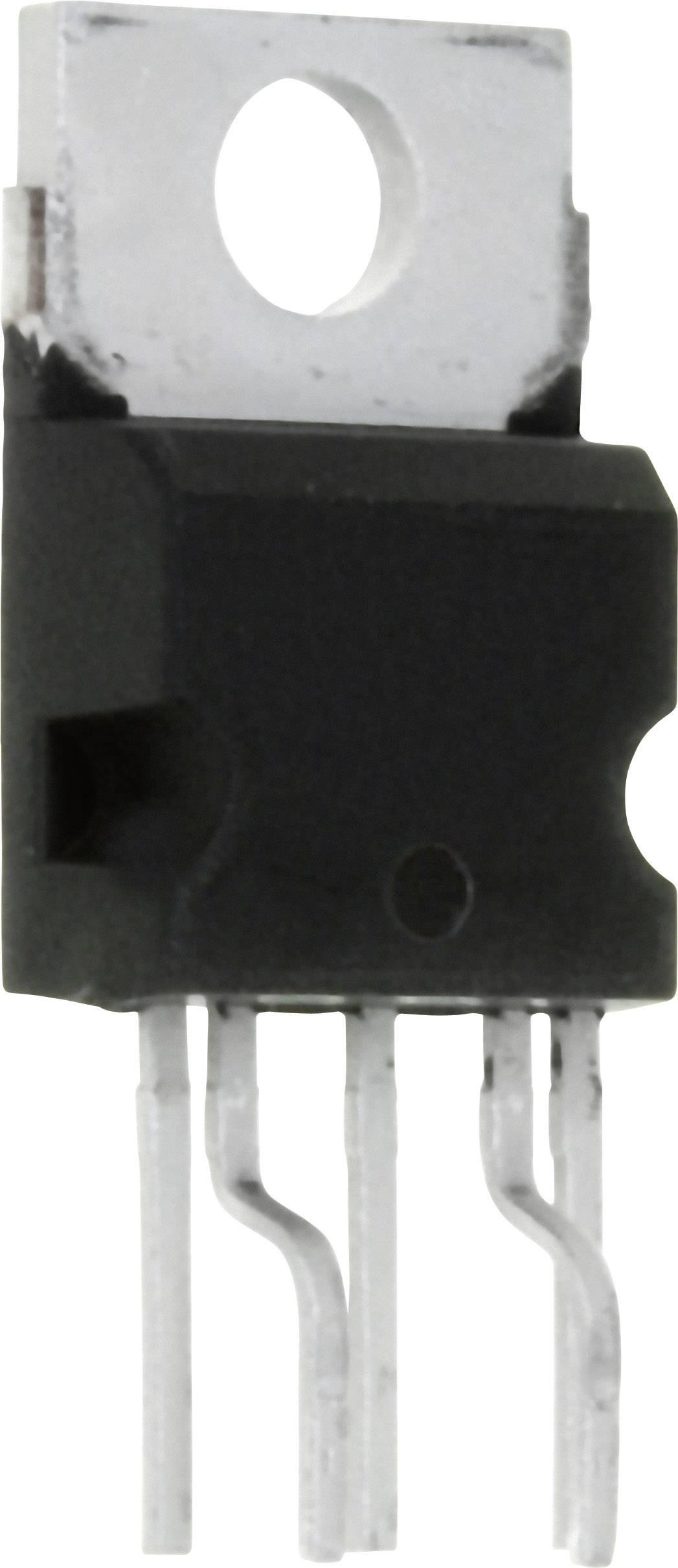 Nastavitelný stabilizátor napětí STMicroelectronics L200CV, 2 A, 2,85 - 36 V, Pentawatt 5